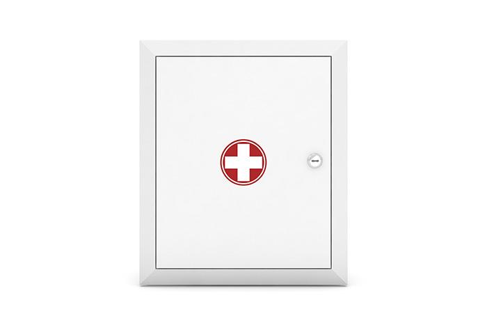 ООО «ПКЦ СпецТехСбыт» — Аптечка для оказания первой помощи работникам (приказ № 169н), металлический шкаф, эконом